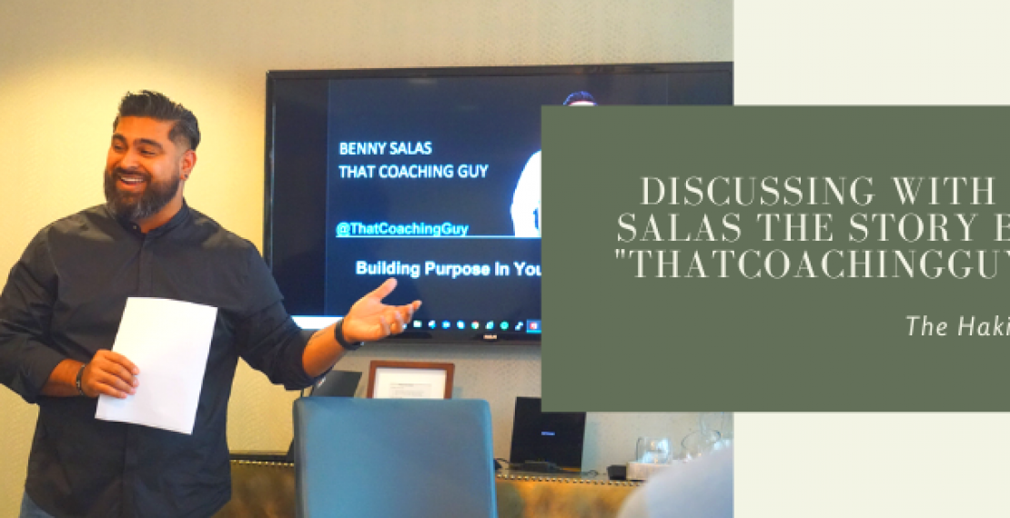 "Discussing With Benny Salas The Story Behind ""ThatCoachingGuy.com"""